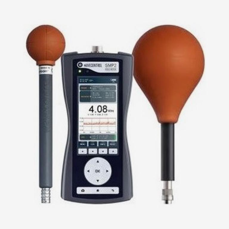 Misuratore di campo elettromagnetico Wavecontrol, modello SMP2 e WP400 e WPF8